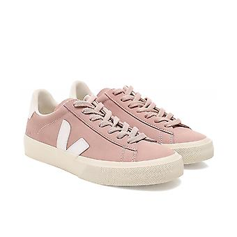 Veja Women's Campo Leather White V Trainers