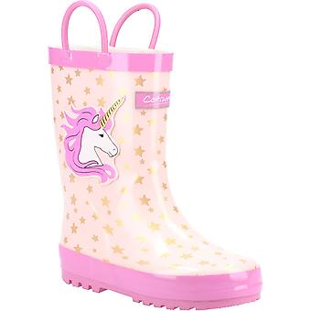 Cotswold kid's puddle waterproof pull on boot various colours 20962