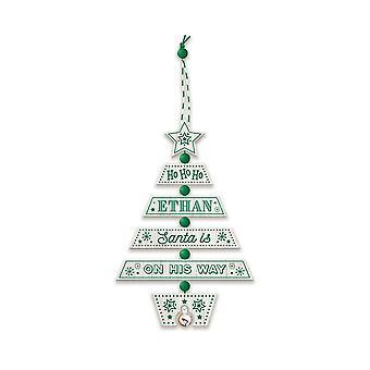 التاريخ وهيرالدري عيد الميلاد شجرة الديكور - إيثان 269800284 اليد الخشبية وضعت