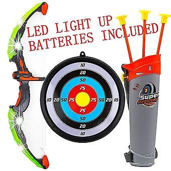 Kids Archery Set Toy Bow Arrow Target Children Junior Indoor Outdoor