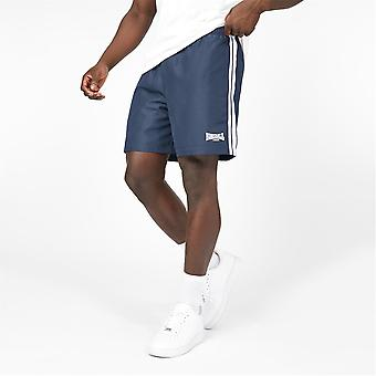 Lonsdale Mens 2S Woven Shorts Elasticated Waistband Training Fitness Gym Bottom