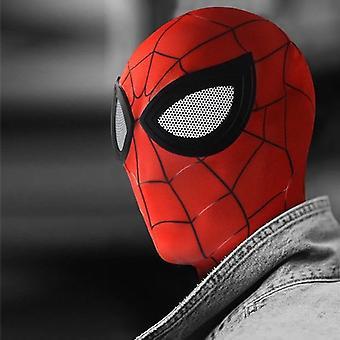 الكبار العنكبوت أغطية الرأس Cosplay غير عادية الأسود سبايدرمان مضحك هالوين قناع