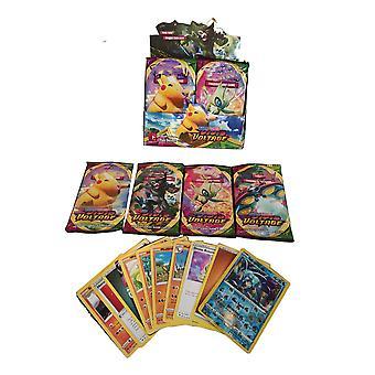 Vdstar 324ks / set Pokémon Karty: zapečetěná Booster Box Collection Obchodní karty Hry Hračky