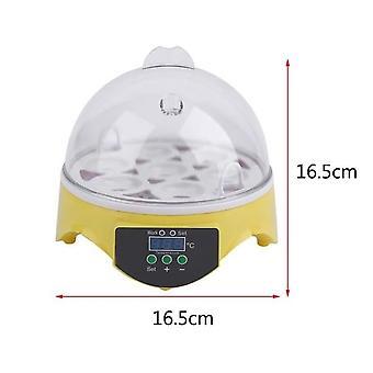 Digital 7 egg inkubator for fjærfe ender høne egg generelt eu plugg