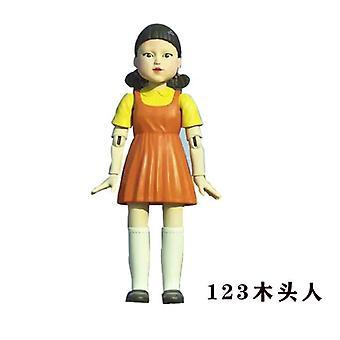 イカゲーム仮面マン樹脂人形ハンドメイドビニールドールコレクションデコレーションモデル