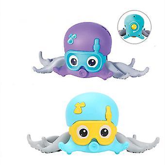 Octopus Pet Toys Children Bath Octopus Toys Creative Clockwork Crawling