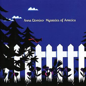 Anna Domino - Mysteries of America/Colourin the Edge & Outline [CD] USA import