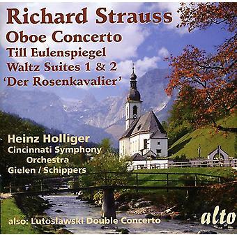 R ・ シュトラウス - リヒャルト ・ シュトラウス: オーボエ協奏曲;オイレンシュピーゲル; までワルツ スイーツ番 1 ・ 2;認めたり [CD] 米国をインポートします。