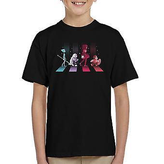 Crystal Road Steven Universe Kid's T-Shirt