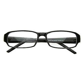 سليم الكلاسيكية ساحة عدسة واضحة أزياء العين نظارات نظارات