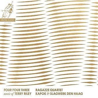 Ragazze Quartet - Four Four Three-Music of Terry Riley [CD] USA import