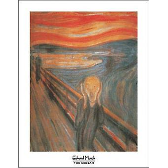 The Scream Poster Print by Edvard Munch (11 x 14)
