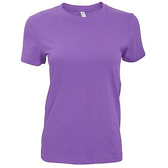 American Apparel Womens/Ladies Plain Short Sleeve T-Shirt