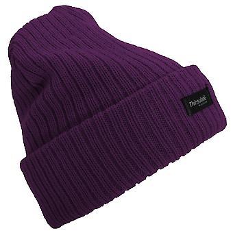 Floso Womens/Ladies Rib Knit Thinsulate Winter Hat