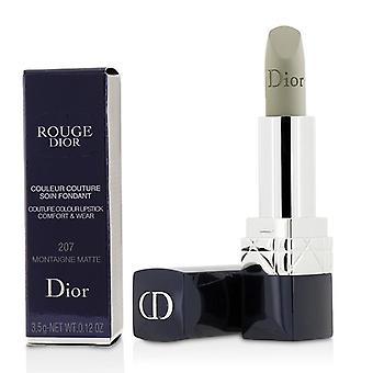 Christian Dior Rouge Dior Couture Colour Comfort & Wear Matte Lipstick - # 207 Montaigne Matte - 3.5g/0.12oz