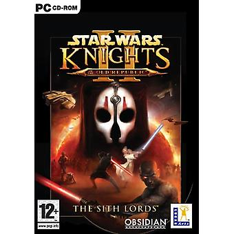Star Wars Knights van de oude Republiek II-Sith Lords (PC)-fabriek verzegeld