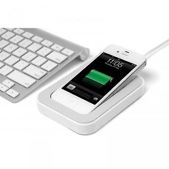 Bluelounge Saidoka Lightning Anti-Slip Charging Station iPhone 5 / 5S in white