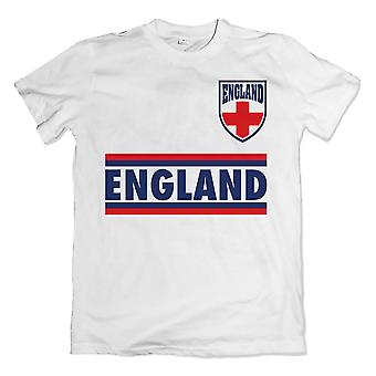 Engeland Shield Logo T-Shirt (wit)