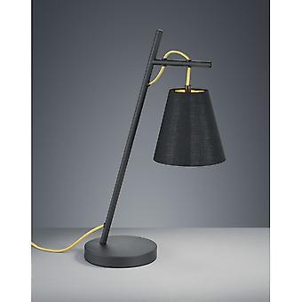 Трио, освещение Андреус современный черный Мэтт металл настольная лампа