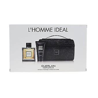 Guerlain ' L ' Homme ideal ' EDT 3.3 oz & gel de duș 2.5 oz cadou set