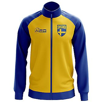 Sverige konceptet fotboll Track Jacket (gul)