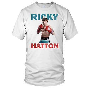 Ricky Hatton boxningslegenden Kids T-shirt