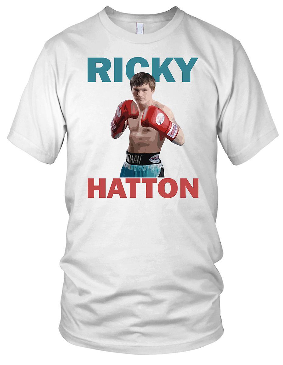 Ricky Hatton boksing legende Kids T skjorte