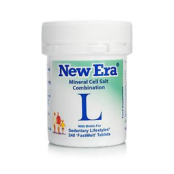 New Era, Combination L, 240 tablets