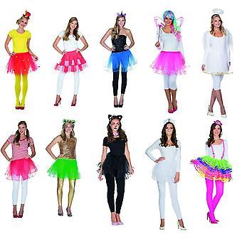 Tyl nederdel Tutu damer carnival klovn cirkus Ballet