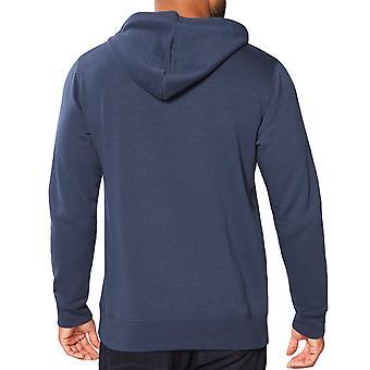Lambretta Mens Northern Soul Long Sleeve Cotton Pullover Sweatshirt Hoodie -Navy