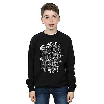 Fantastic Beasts Boys Strange Creatures Sweatshirt