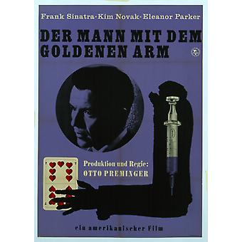 The Man with the Golden Arm Movie Poster (11 x 17)