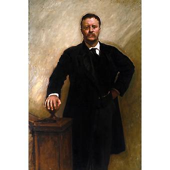 Theodore Roosevelt,John Singer Sargent,60x40cm