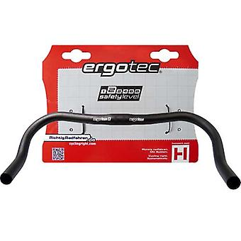 Ergotec fixie Horn bar handlebar (aluminium)