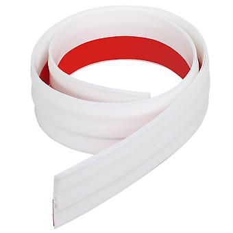 TRIXES Under Door Draft Excluder - Self-Adhesive Rubber Draught Strip - 90 x 5cm - White