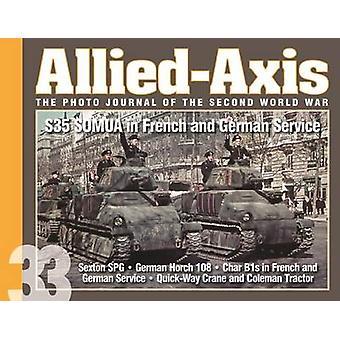 المتحالفة مع محور-المجلة صورة من الحرب العالمية الثانية-S35 سوموا في