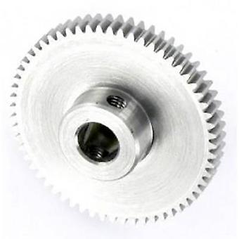 Módulo do módulo de engrenagem de espora de aço reely: 0,5 Diâmetro do furo: 6 mm Não. de dentes: 60