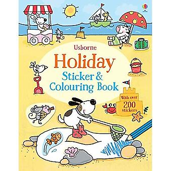 Holiday Sticker and Colouring Book (First Colouring and Sticker Books)