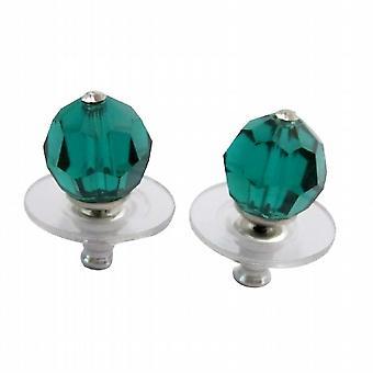 Доступное невесты ювелирные изделия Изумрудный кристалл серьги