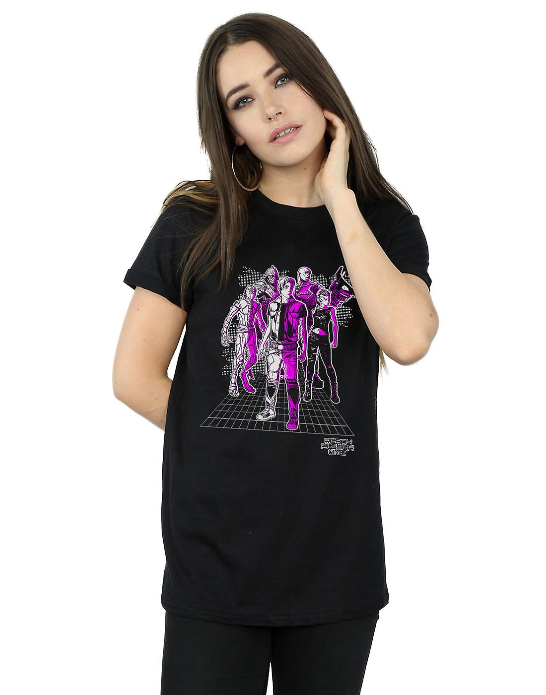 Ready Player One Women's The High Five Boyfriend Fit T-Shirt