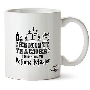 Hippowarehouse kjemi læreren? Jeg tror du mener Potions Master trykt krus Cup keramiske 10 Unzen