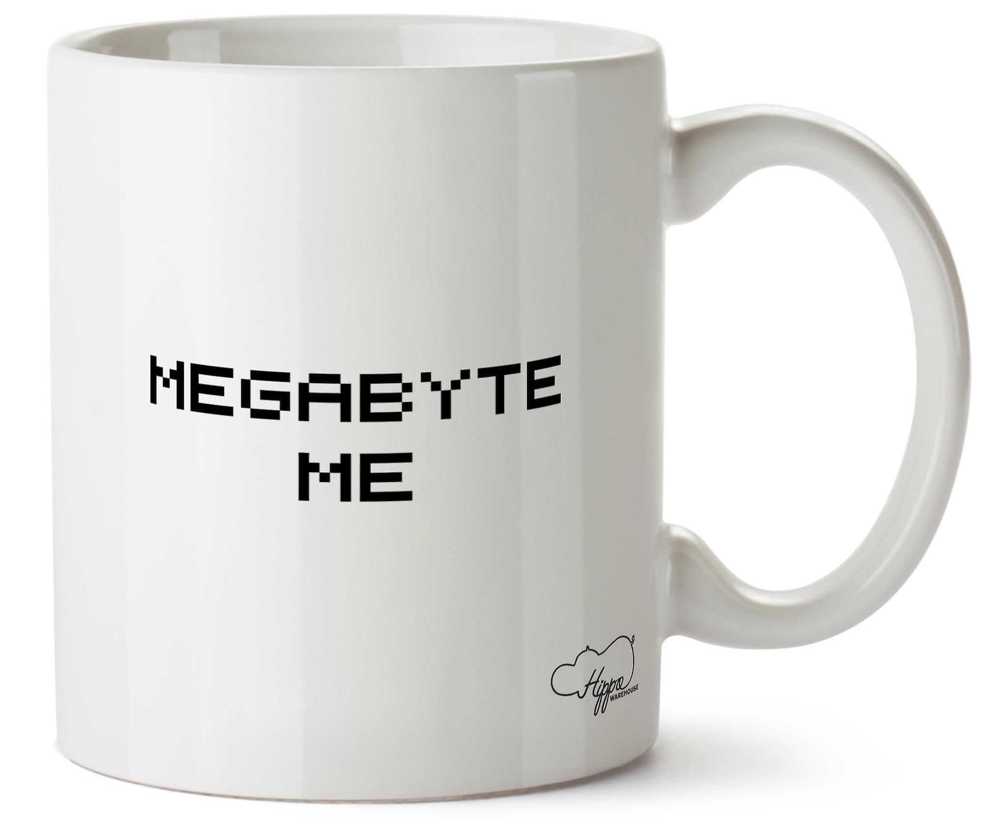 Hippowarehouse мегабайт меня напечатаны кружка чашка керамическая 10 oz