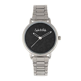 Sophie & Freda Breckenridge Bracelet Watch - Silver