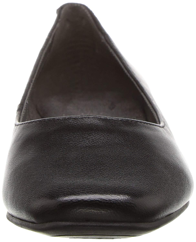 Aerosoles Womens Subway Leather Round Toe Classic Pumps