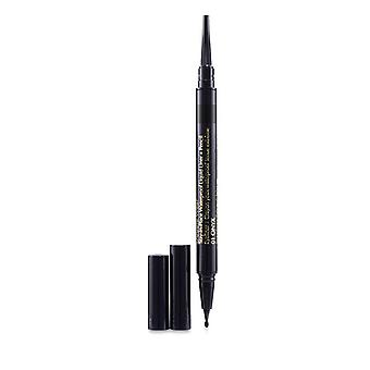 Double Wear Stay In Place Waterproof Liquid Liner + Pencil - # 01 Onxy - 0.53g/0.012oz