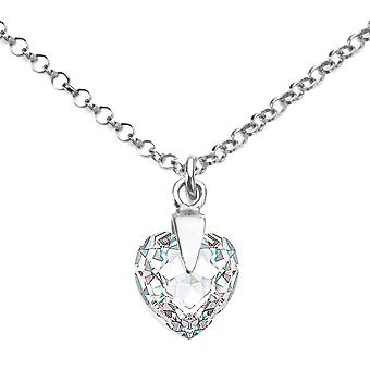 Ah Jewellery Clear Heart Crystal From Swarovski