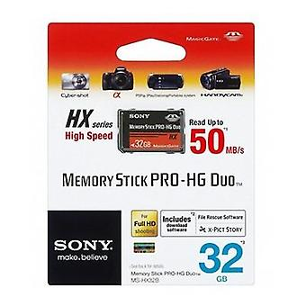 Sony Memory Stick Pro-HG Duo HX Rev. B