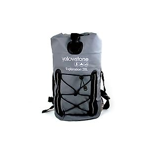 Yellowstone Exploration 20L Waterproof Rucksack Grey