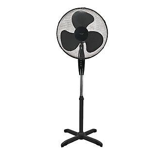 NORDIC HOME CULTURE vloer ventilator, 410 mm, drie versnellingen-zwart