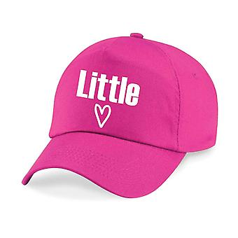 Kids Little Heart Baseball Cap Girls